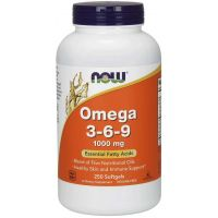 Omega 3-6-9 1000 mg (250 kaps.) NOW Foods