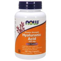 Hyaluronic Acid - Kwas Hialuronowy 100 mg (120 kaps.) NOW Foods