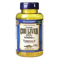 Cod Liver Oil - Tran 1000 mg (60 kaps.) Holland & Barrett