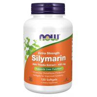 Silymarin - Sylimaryna z Ostropestu Plamistego 450 mg (120 kaps.) NOW Foods