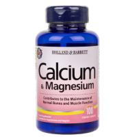 Calcium & Magnesium - Wapń i Magnez (100 tabl.) Holland & Barrett