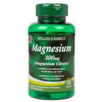 Magnesium Citrate - Cytrynian Magnezu 100 mg (100 tabl.) Holland & Barrett