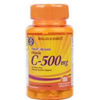 Witamina C 500 mg z bioflawonoidami i dziką różą (100 tabl.) Holland & Barrett