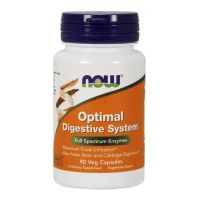 Optimal Digestive System - Enzymy Trawienne (90 kaps.) NOW Foods