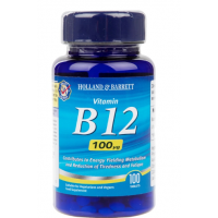 Witamina B12 100 mcg (100 tabl.) Holland & Barrett