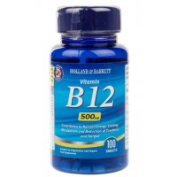 Witamina B12 500 mcg (100 tabl.) Holland & Barrett