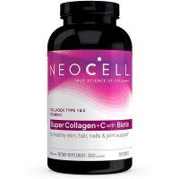 Super Collagen + C with Biotin - Hydrolizowany Kolagen Wołowy Typ I i III + Askorbinian Wapnia + Biotyna (360 tabl.) NeoCell