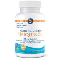 CoQ10 Ubiquinol - Koenzym Q10 100 mg (60 kaps.) Nordic Naturals