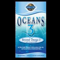 Oceans 3 Beyond Omega-3 with OmegaXanthin - Kwasy Omega 3 DHA EPA (60 kaps.) Garden of Life