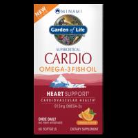 Minami Cardio Omega-3 Fish Oil - Kwasy Omega 3 DHA EPA (60 kaps.) Garden of Life