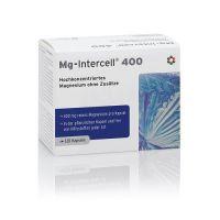 Magnez /tlenek magnezu/ 400 mg - Mg-Intercell® 400 (120 kaps.) Intercell Pharma
