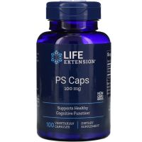 PS Caps - Fosfatydyloseryna 100 mg (100 kaps.) Life Extension