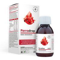 Ferradrop - Żelazo Elementarne (zawiesina) (100 ml) Aura Herbals