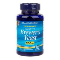 Brewer's Yeast - Drożdze Piwowarskie 500 mg (250 tabl.) Holland & Barrett
