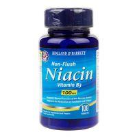 Witamina B3 - Niacyna (Niacin Non-Flush) 100 mg (100 tabl.) Holland & Barrett
