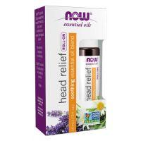 Olejek Head Relief Blend Roll-On (10 ml) NOW Foods