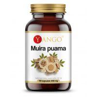 Muira Puama 400 mg - ekstrakt 10:1 Potency Tree (90 kaps.) Yango