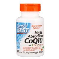 Koenzym Q10 200 mg + Piperyna 5 mg BioPerine (60 kaps.) Doctor's Best