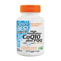 Koenzym Q10 100 mg + PQQ 20 mg + Piperyna 5 mg BioPerine (60 kaps.) Doctor's Best