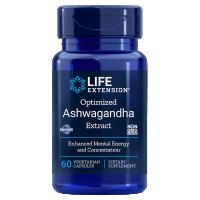 Optimized Ashwagandha Extract - standaryzowany ekstrakt Ashwagandha (60 kaps.) Life Extension