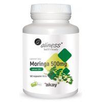 Moringa Olejodajna 500 mg - ekstrakt 20% glikozydów (100 kaps.) Aliness