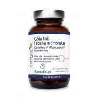 Gotu Kola Centellicum + Pycnogenol - Ekstrakt z kory francuskiej Sosny Morskiej (30 kaps.) Kenay