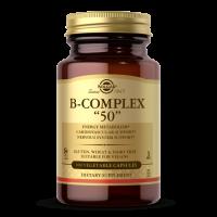 """Vitamin B-Complex """"50"""" - Kompleks Witamin B (100 kaps.) Solgar"""