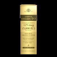 Vitamin D3 Liquid 125 mcg (5000 IU) - Witamina D3 w płynie 2500 IU (59 ml) Solgar