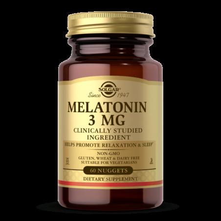 Melatonin - Melatonina do ssania 3 mg (60 tabl.) Solgar