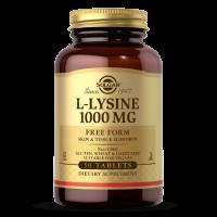 L-Lysine - L-Lizyna HCL 1000 mg (50 tabl.) Solgar