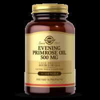 Evening Primrose Oil - Olej z Nasion Wiesiołka 500 mg (90 kaps.) Solgar