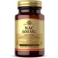NAC Free Form - N-Acetylo-L-Cysteina 600 mg (30 kaps.) Solgar