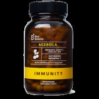 Acerola 25% + Bioflawonoidy Cytrusowe - Immunity Malpighia Glabra L. 25% (100 kaps.) Boca Botanica
