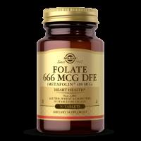 Folian - Folate L-Metylofolan-Metafolin 400 mcg (50 tabl.) Solgar