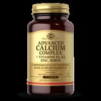 Ultimate Bone Support - Advanced Calcium Complex - Wzmocnienie układu kostnego - Wapń + D3 + K2 + Cynk + Bor (120 tabl.) Solgar