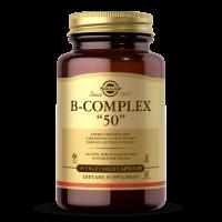 """Vitamin B-Complex """"50"""" - Kompleks witamin B (50 kaps.) Solgar"""