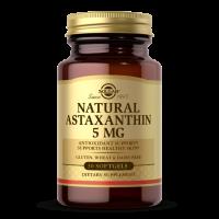 Astaxanthin - Naturalna Astaksantyna 5 mg (30 kaps.) Solgar