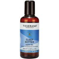 Sleep Better Bath Oil - Olejek do kąpieli/ Jaśmin + Drzewo sandałowe + Lawenda (100 ml) Tisserand