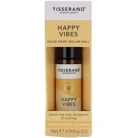 Happy Vibes Pulse Point Roller Ball - Drzewo cytrynowe + Bergamotka + Gałka muszkatołowa (10 ml) Tisserand