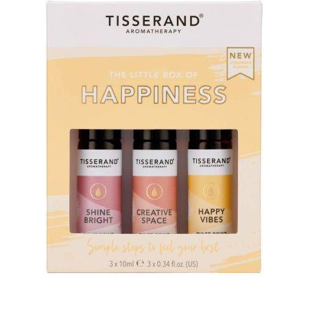 The Little Box of Happiness - Zestaw olejków eterycznych na lepsze samopoczucie (3 x 10 ml) Tisserand