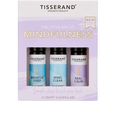 The Little Box of Mindfullness - Zestaw olejków eterycznych na wyciszenie (3 x 10 ml) Tisserand