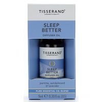 Sleep Better Diffuser Oil - Jaśmin + Drzewo sandałowe + Lawenda (9 ml) Tisserand