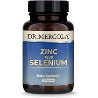Cynk + Selen + Miedź - Zinc Plus Selenium (30 kaps.) Dr Mercola
