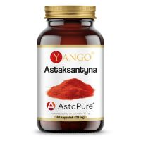 Astaksantyna 4 mg AstaPure (60 kaps.) Yango