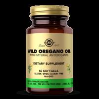 Wild Oregano Oil - Olej z Dzikiego Oregano 70% karwakrolu (60 kaps.) Solgar