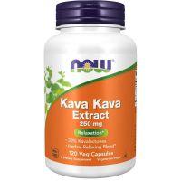 Kava Kava - ekstrakt 250 mg (120 kaps.) NOW Foods