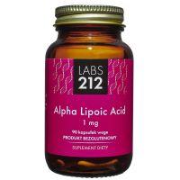 Alpha Lipoic Acid - Kwas Alfa-liponowy A-LA 1 mg (90 kaps.) Labs212