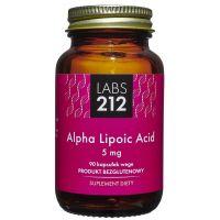 Alpha Lipoic Acid - Kwas Alfa-liponowy A-LA 5 mg (90 kaps.) Labs212