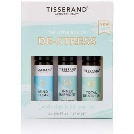 The Little Box De-Stress - Zestaw olejków eterycznych na odprężenie (3 x 10 ml) Tisserand