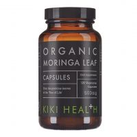 Moringa Leaf - Moringa sproszkowane liście (120 kaps.) Kiki Health